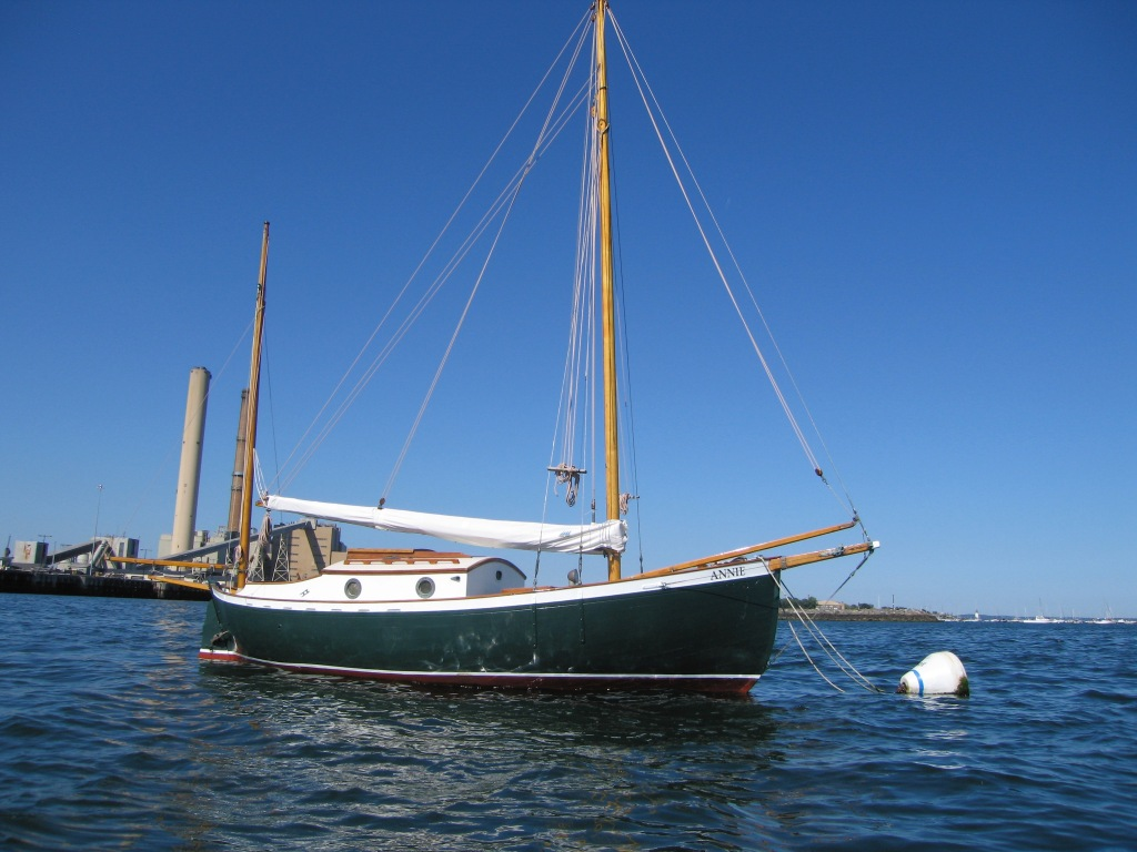 The sailboat Annie